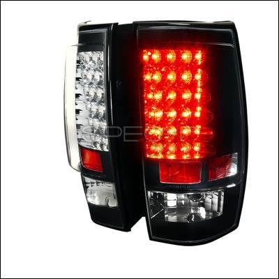 Spec-D - Chevrolet Tahoe Spec-D G2 LED Taillight - Black - LT-DEN07G2JMLED-TM