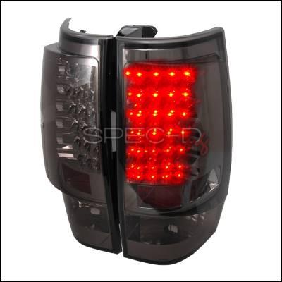 Spec-D - Chevrolet Tahoe Spec-D LED Taillights - Smoke - LT-DEN07GLED-TM