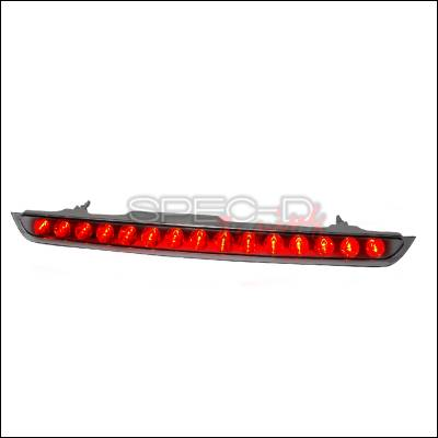 Spec-D - GMC Denali Spec-D LED Third Brake Lights - Chrome - LT-DEN07RBCLED-CY