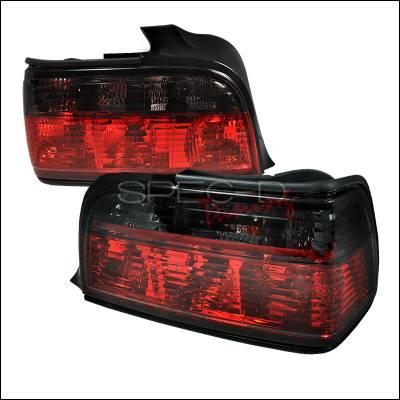 Spec-D - BMW 3 Series 4DR Spec-D Altezza Taillights - Red & Smoke - LT-E364RG-APC