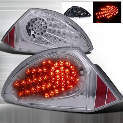 Spec-D - Mitsubishi Eclipse Spec-D LED Taillights - Chrome - LT-ELP00CLED-WJ