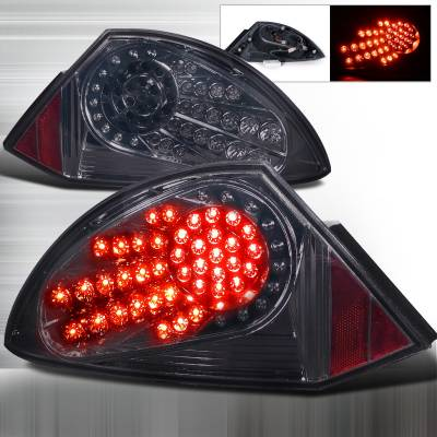 Spec-D - Mitsubishi Eclipse Spec-D LED Taillights - Smoke - LT-ELP00GLED-WJ