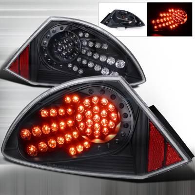 Spec-D - Mitsubishi Eclipse Spec-D LED Taillights - Black - LT-ELP00JMLED-WJ