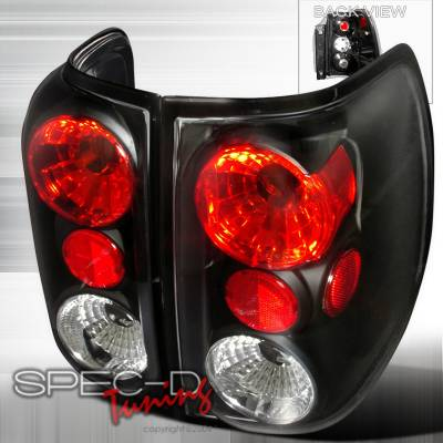 Spec-D - Ford Expedition Spec-D Altezza Taillights - Black - LT-EPED03JM-TM