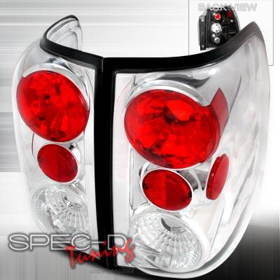 Spec-D - Ford Expedition Spec-D Altezza Taillights - Chrome - LT-EPED03-TM