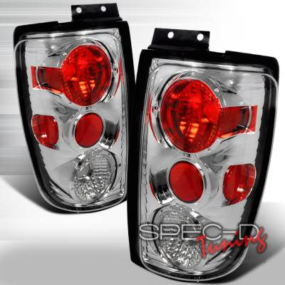 Spec-D - Ford Expedition Spec-D Altezza Taillights - Smoke - LT-EPED97G-KS