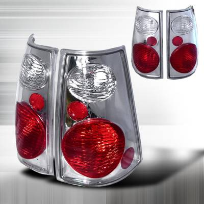 Spec-D - Ford Explorer Spec-D Altezza Taillights - Chrome - LT-EPOR02ST-KS