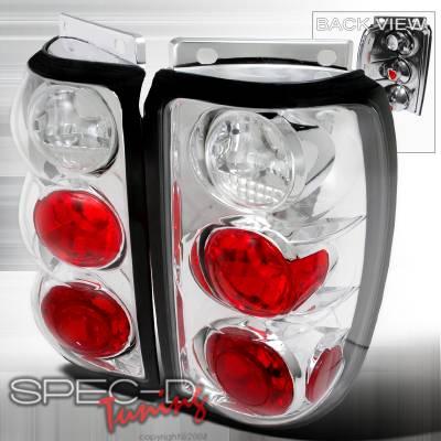 Spec-D - Ford Explorer Spec-D Altezza Taillights - Chrome - LT-EPOR95-TM