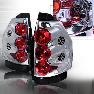 Spec-D - GMC Envoy Spec-D Altezza Taillights - Chrome - LT-EVY02-KS
