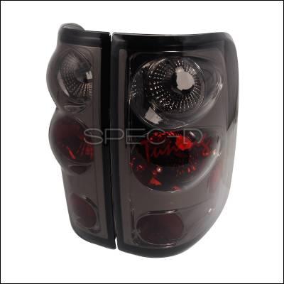 Spec-D - Ford F150 Spec-D Altezza Taillights - Smoke - LT-F15004G-TM