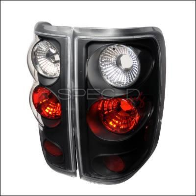 Spec-D - Ford F150 Spec-D Altezza Taillights - Black - LT-F15004JM-TM
