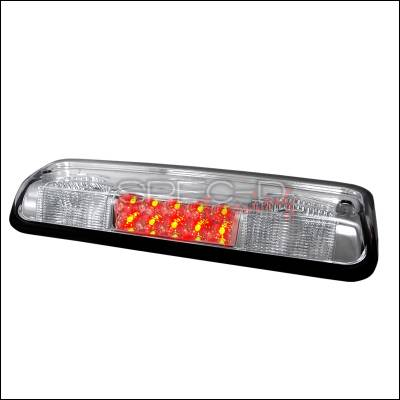 Spec-D - Ford F150 Spec-D LED Third Brake Lights - Chrome - LT-F15004RBCLED-APC
