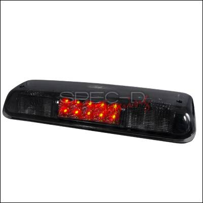 Spec-D - Ford F150 Spec-D LED Third Brake Lights - Smoke - LT-F15004RBGLED-APC