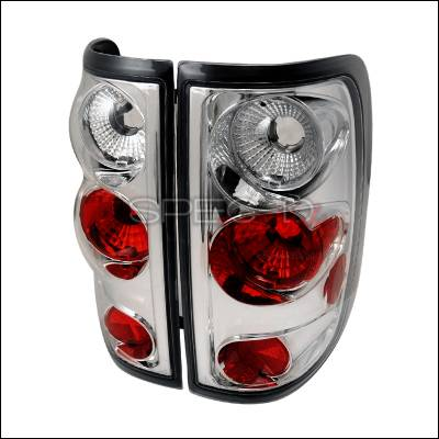 Spec-D - Ford F150 Spec-D Altezza Taillights - Chrome - LT-F15004-TM