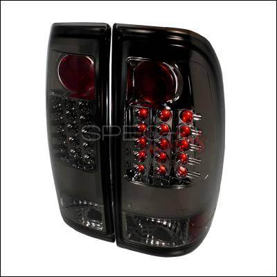 Spec-D - Ford F150 Spec-D LED Taillights - Smoke - LT-F15097GLED-TM