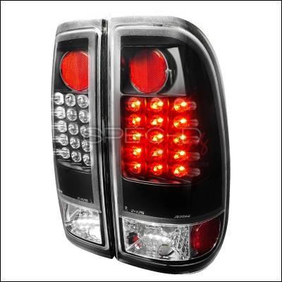 Spec-D - Ford F150 Spec-D LED Taillights - Black - LT-F15097JMLED-V2-TM