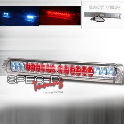 Spec-D - Ford F150 Spec-D LED Third Brake Lights - Chrome - LT-F15097RBCLED-CY