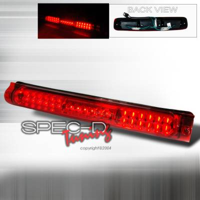 Spec-D - Ford F150 Spec-D LED Third Brake Lights - Red - LT-F15097RBRLED-KS