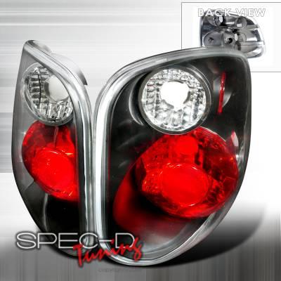 Spec-D - Ford F150 Spec-D Altezza Taillights - Black - LT-F150F01JM-KS