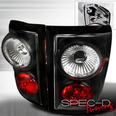 Spec-D - Ford F150 Spec-D Altezza Taillights - Black - LT-F150F01JM-TM