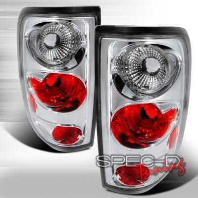 Spec-D - Ford F150 Spec-D Altezza Taillights - Chrome - LT-F150F04CC-TM