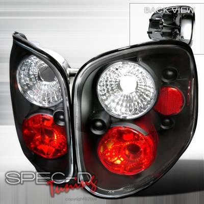 Spec-D - Ford F150 Spec-D Altezza Taillights - Black - LT-F150F97JM-TM