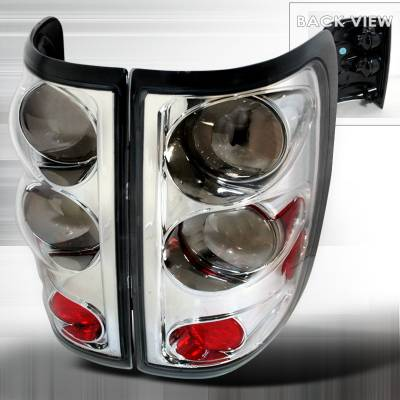 Spec-D - Ford F150 Spec-D Altezza Taillights - Chrome - LT-F150FT04CR-TM