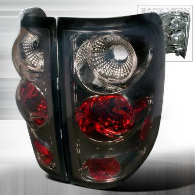 Spec-D - Ford F150 Spec-D Altezza Taillights - Smoke - LT-F150FT04G-TM