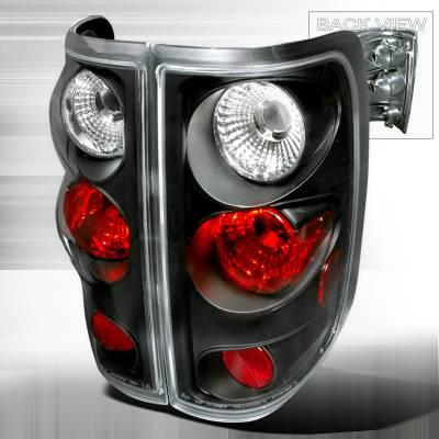 Spec-D - Ford F150 Spec-D Altezza Taillights - Black - LT-F150FT04JM-TM