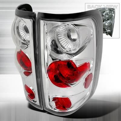 Spec-D - Ford F150 Spec-D Altezza Taillights - Chrome - LT-F150FT04-TM