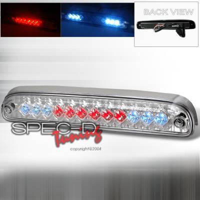Spec-D - Ford F250 Spec-D LED Third Brake Lights - Chrome - LT-F25099RBCLED-CY