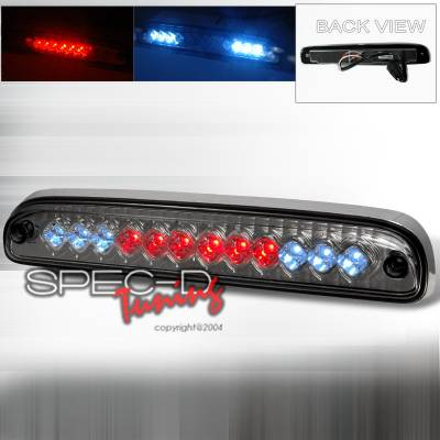 Spec-D - Ford F250 Spec-D Led Third Brake Light - Smoke - LT-F25099RBGLED-CY