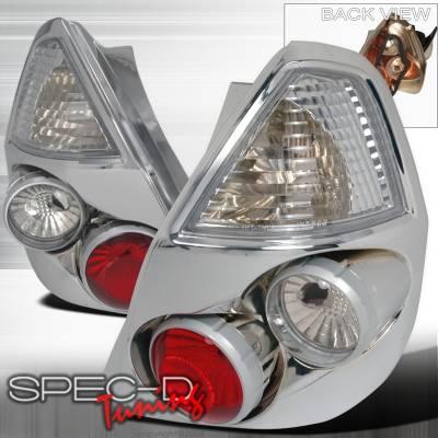 Spec-D - Honda Fit Spec-D Altezza Taillights - Chrome - LT-FIT06-TM