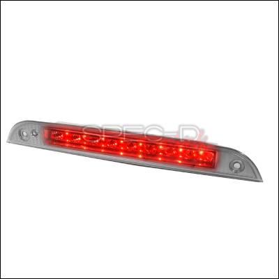 Spec-D - Ford Focus Spec-D LED Third Brake Lights - Chrome - LT-FOC00RBCLED-RS