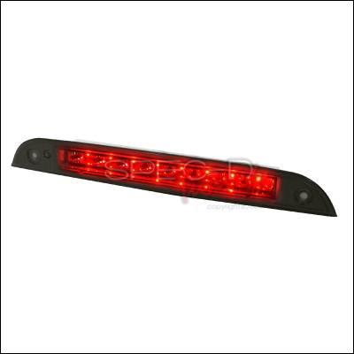 Spec-D - Ford Focus Spec-D LED Third Brake Lights - Smoke - LT-FOC00RBGLED-RS