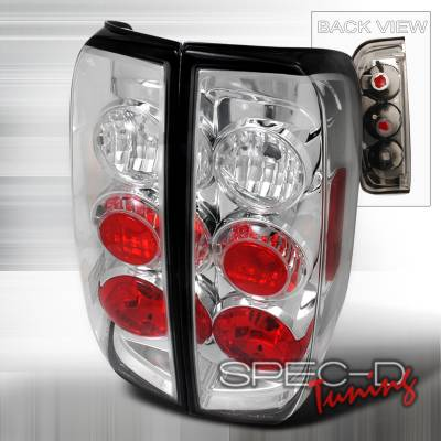 Spec-D - Nissan Frontier Spec-D Altezza Taillights - Chrome - LT-FRO05-TM