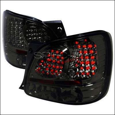 Spec-D - Lexus GS Spec-D LED Taillights - Smoke - LT-GS30098GLED-TM