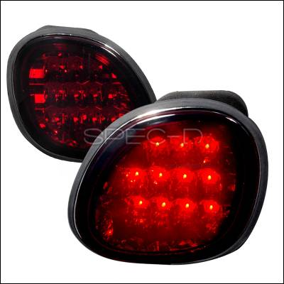 Spec-D - Lexus GS Spec-D LED Taillights - Smoke - LT-GS30098GLED-TMX