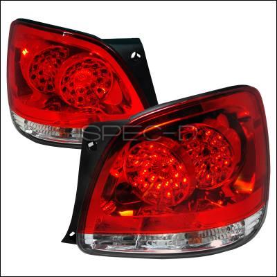 Spec-D - Lexus GS Spec-D LED Taillights - Red - LT-GS30098RLED-KS