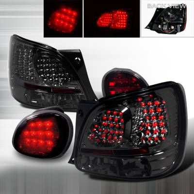 Spec-D - Lexus GS Spec-D LED Taillights - Smoke - LT-GS300RTGLED-TM