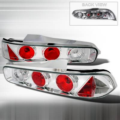 Spec-D - Acura Integra 2DR Spec-D Altezza Taillights - Chrome - LT-INT942-TM