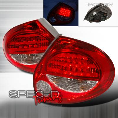Spec-D - Nissan Maxima Spec-D LED Taillights - Red - LT-MAX00RLED-KS