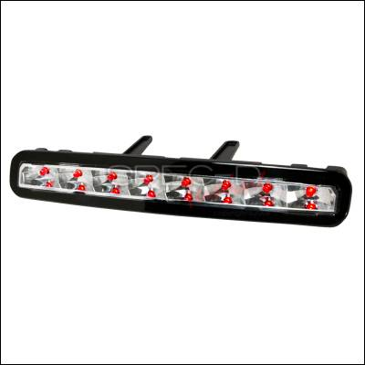 Spec-D - Ford Mustang Spec-D LED Third Brake Lights - Clear - LT-MST05RBCLED-ABM