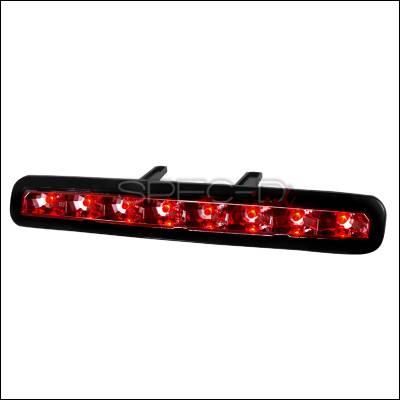 Spec-D - Ford Mustang Spec-D LED Third Brake Lights - Chrome - LT-MST05RBCLED-APC