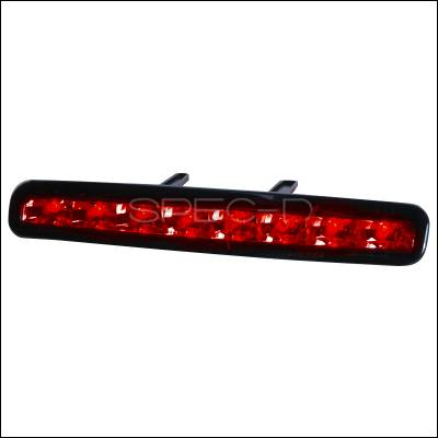 Spec-D - Ford Mustang Spec-D LED Third Brake Lights - Smoke - LT-MST05RBGLED-APC