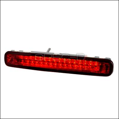 Spec-D - Ford Mustang Spec-D LED Third Brake Lights - Chrome - LT-MST05RBRLED-APC