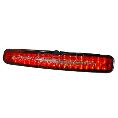 Spec-D - Ford Mustang Spec-D LED Third Brake Lights - Red - LT-MST05RBRLED-KS