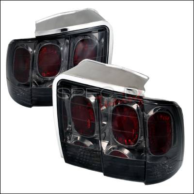 Spec-D - Ford Mustang Spec-D Altezza Taillights - Smoke - LT-MST99G-APC