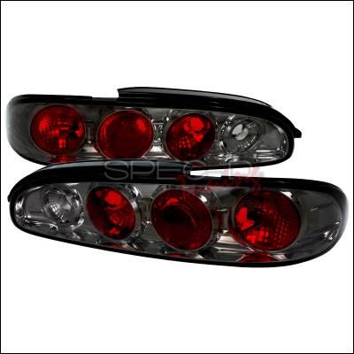 Spec-D - Mazda MX6 Spec-D Altezza Taillights - Smoke - LT-MX693G-TM