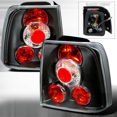 Spec-D - Volkswagen Passat Spec-D Altezza Taillights - Black - LT-PAS974JM-TM